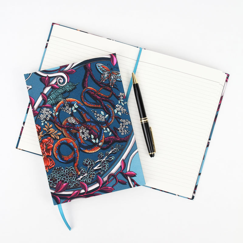 Japanese Cameo Turquoise A5 Notebook