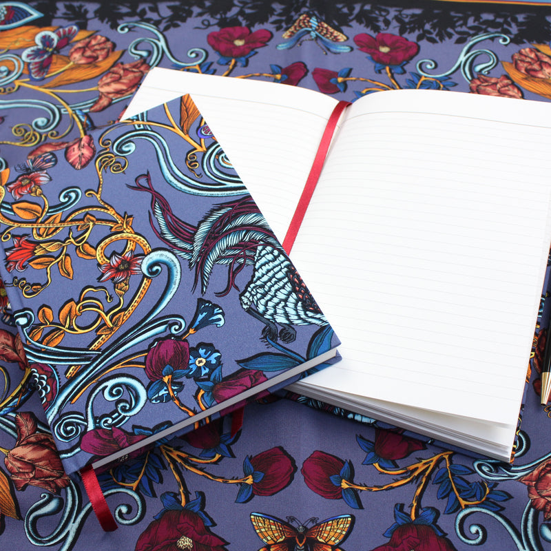 Delany Damask A5 Notebook