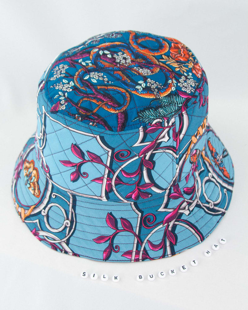 The Cameo Silk Bucket Hat