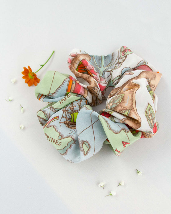 Sunrise Garden Scrunchie
