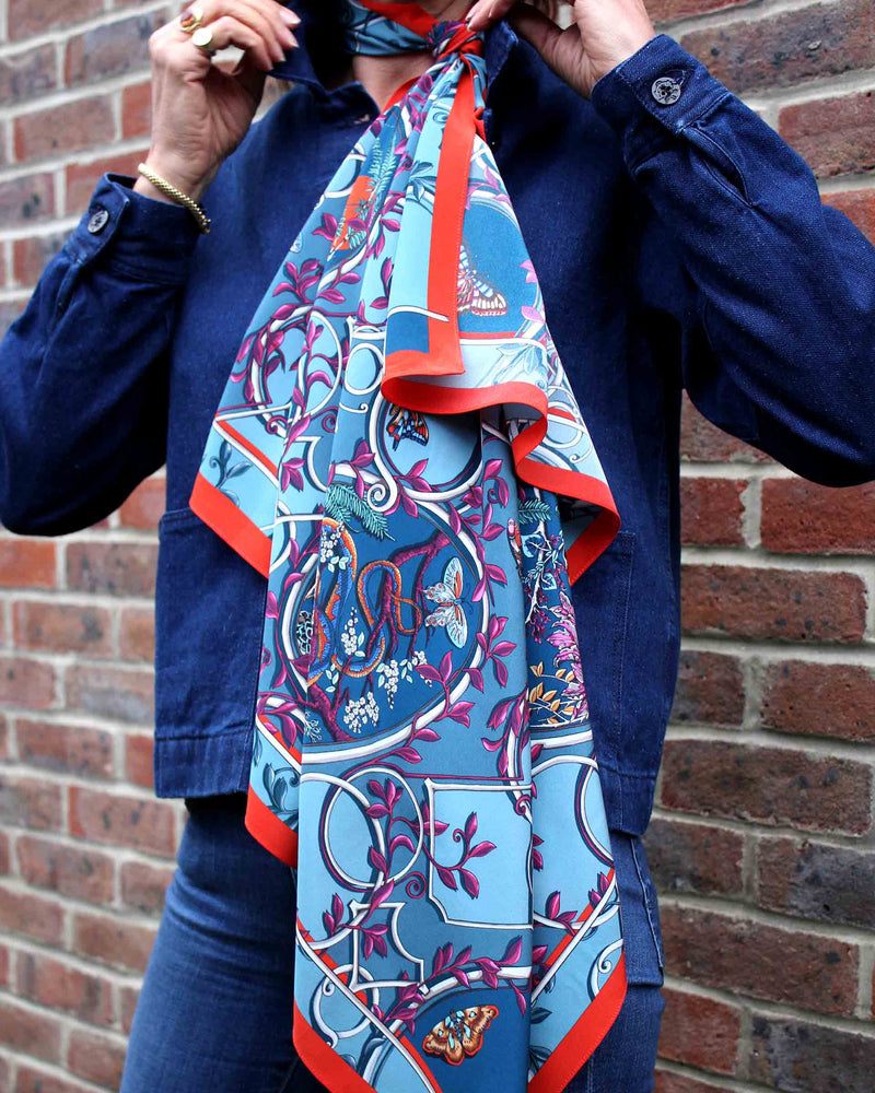 Cameo Turquoise Scarf
