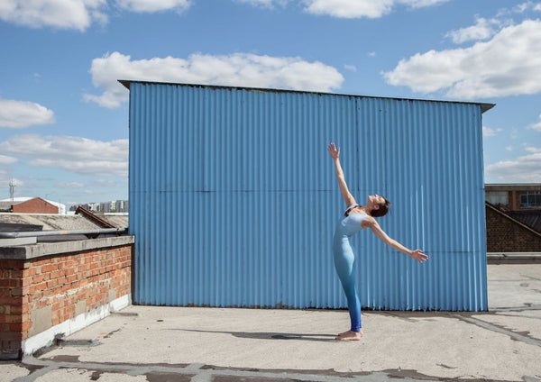 Dancers on Rooftops: 'Rachel Burn (#1)' - C-Type Print (OE)