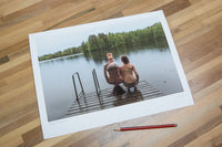 "The Forest Project: 'Headstand After the Sauna' - 12"" x 16"" Print (LE)"