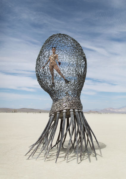 Burning Man: 'Mallory Pokorny' - C-Type Print (OE)