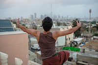 "Dancers on Rooftops: """"I can hug the city from here"", Anderson Braz (#1)"" - Exhibition Display Discounted Print (UK Delivery / London Pick-Up Only, DoR-EDDP-GSB)"