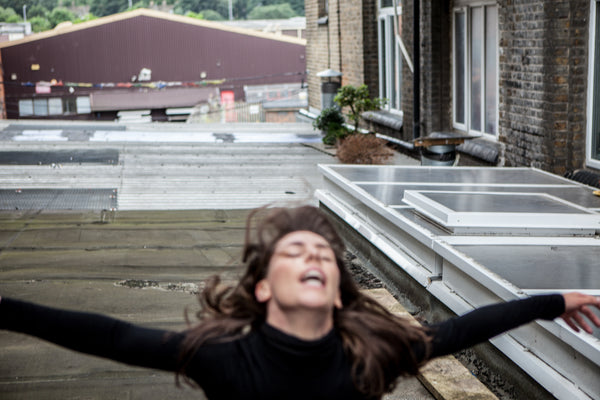 "Dancers on Rooftops: ""Lauren Bridle (#1)"" - Exhibition Display Discounted Print (UK Delivery / London Pick-Up Only, DoR-EDDP-GSB)"