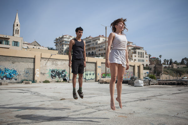 "Dancers on Rooftops: ""Talia Bik & Yaniv 'Yano' Eliash (#1)"" - Exhibition Display Discounted Print (UK Delivery / London Pick-Up Only, DoR-EDDP-GSB)"