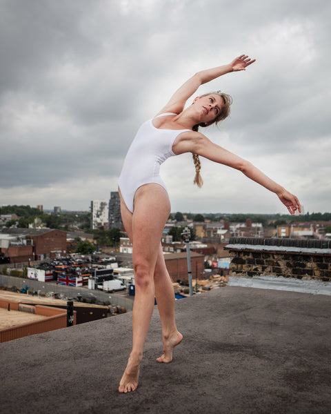 "Dancers on Rooftops: ""Lucy Ridley (#1)"" - Exhibition Display Discounted Print (UK Delivery / London Pick-Up Only, DoR-EDDP-GSB)"