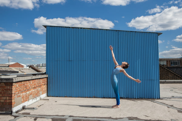 "Dancers on Rooftops: ""Rachel Burn (#1)"" - Exhibition Display Discounted Print (UK Delivery / London Pick-Up Only, DoR-EDDP-GSB)"