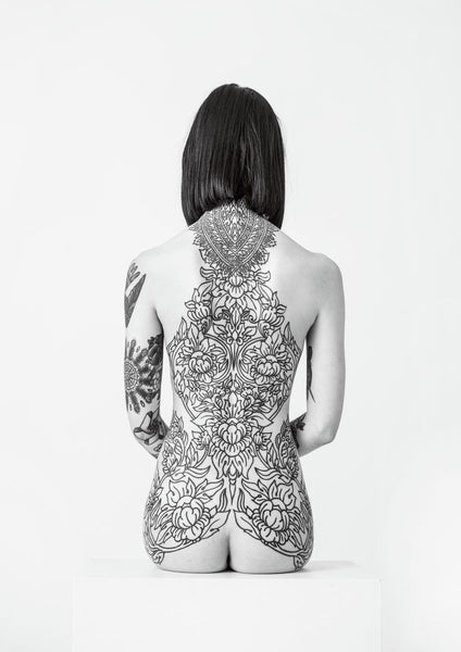 'Hannah Pixie's back-piece' - C-Type Print (OE)