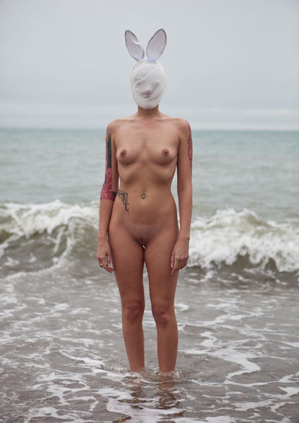 Naked with Masks: 'Ashka' - C-Type Print (OE)