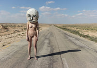 Naked with Masks: 'A road that leads nowhere' - C-Type Print (OE)