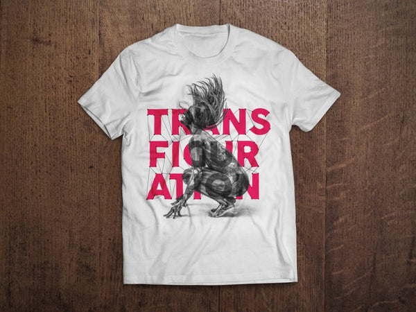 Transfiguration: 'Alejandra Baño' - Screen Print T-Shirt
