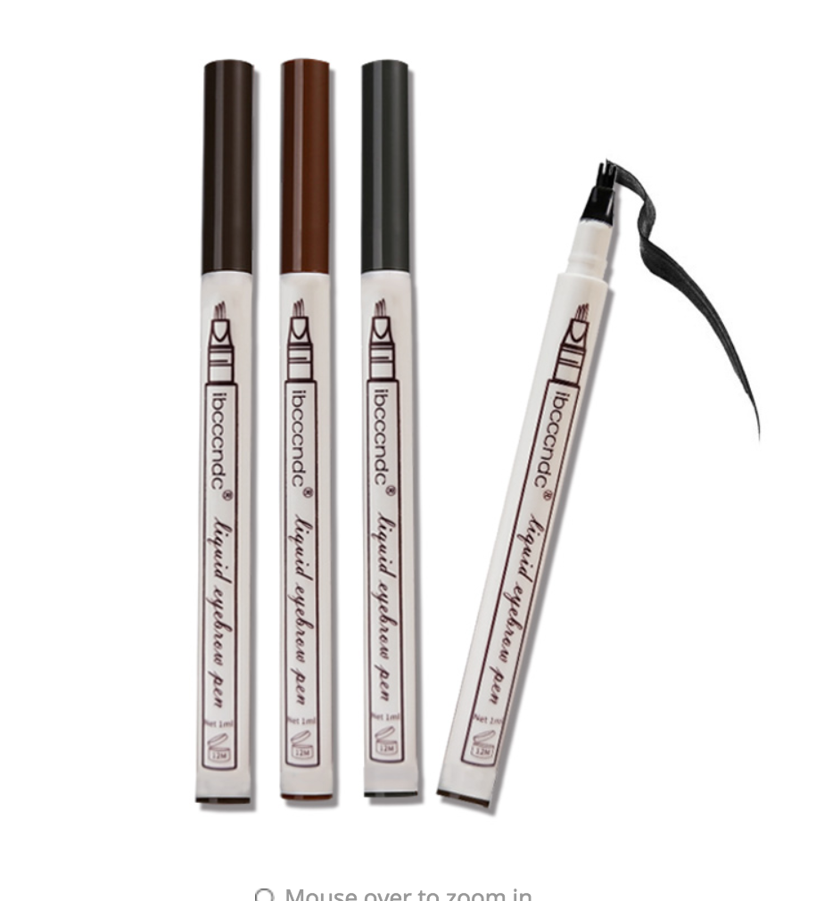 Waterproof Fork Tip Eyebrow Pen