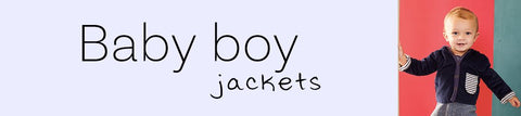 Baby Boys Jackets + Outerwear