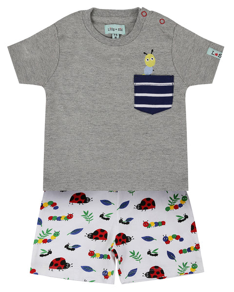 Bug Pocket Short Set