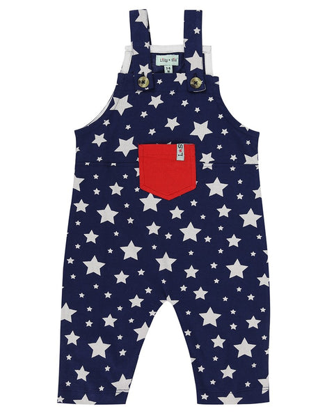 Star Print Dungaree
