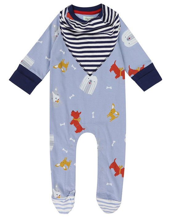 Dog Days Playsuit And Bib