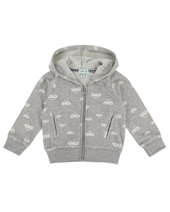 Car Jaquard Hoody