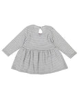 Vintage Collar Stripe Dress