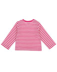 Pink Stripe Layering Top