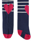 Heart And Stripes Tights