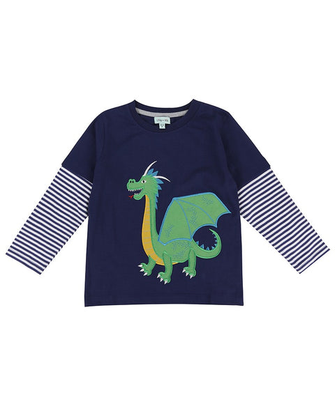 Dragon Tales Applique Top