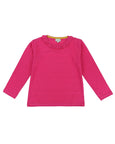 Frill Neck Layering Top- B.Pink