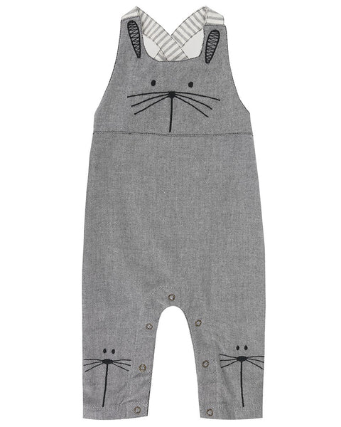 Flannel Bunny Dungaree