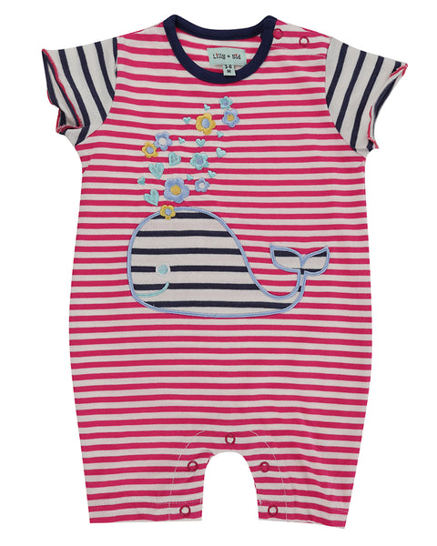 Whale Applique Romper