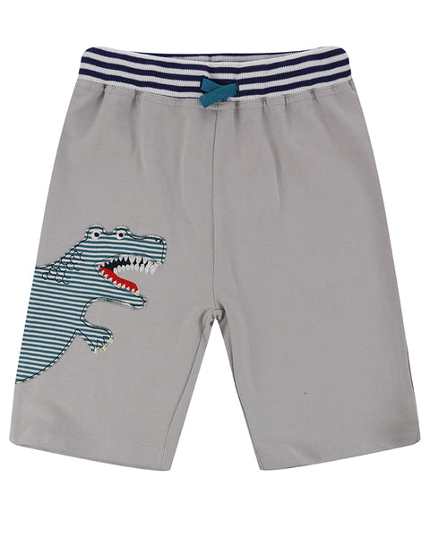 Dino Applique Shorts