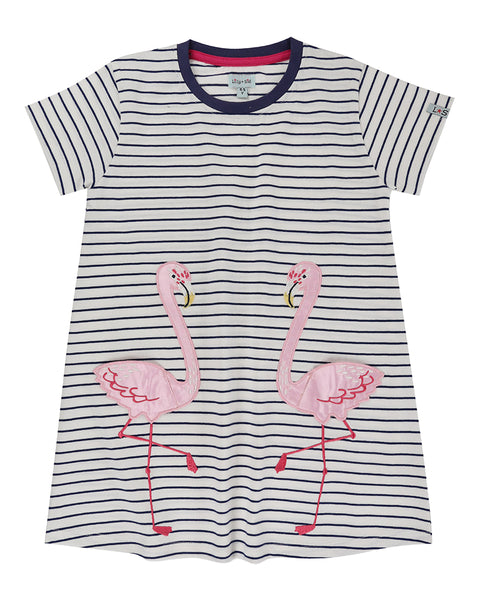 Flamingo Pocket Dress