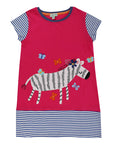 Zebra Applique Dress