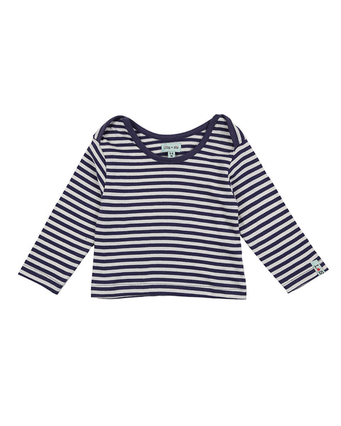 Stripe Layering Top