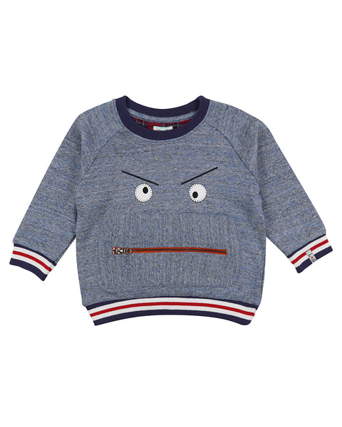 ZIPPY MONSTER SWEAT