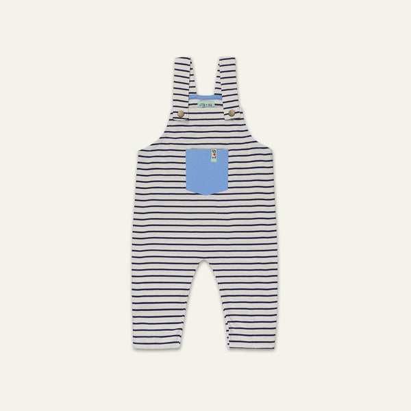 NAVY STRIPE DUNGAREE