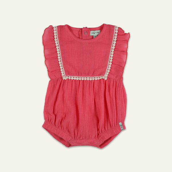 CHEESECLOTH BUBBLE ROMPER