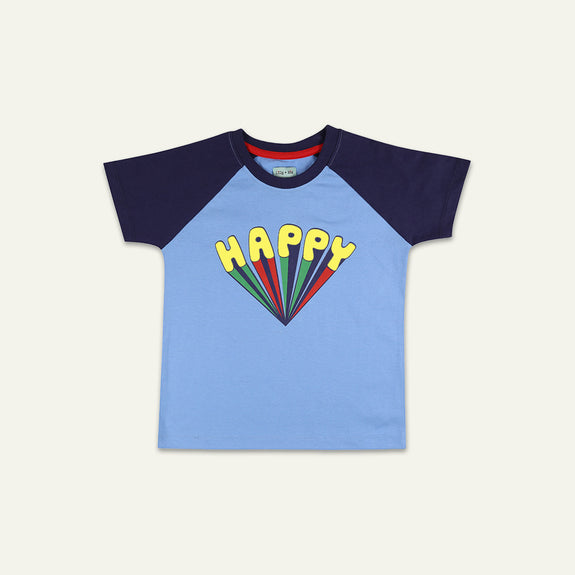 RAGLAN HAPPY T