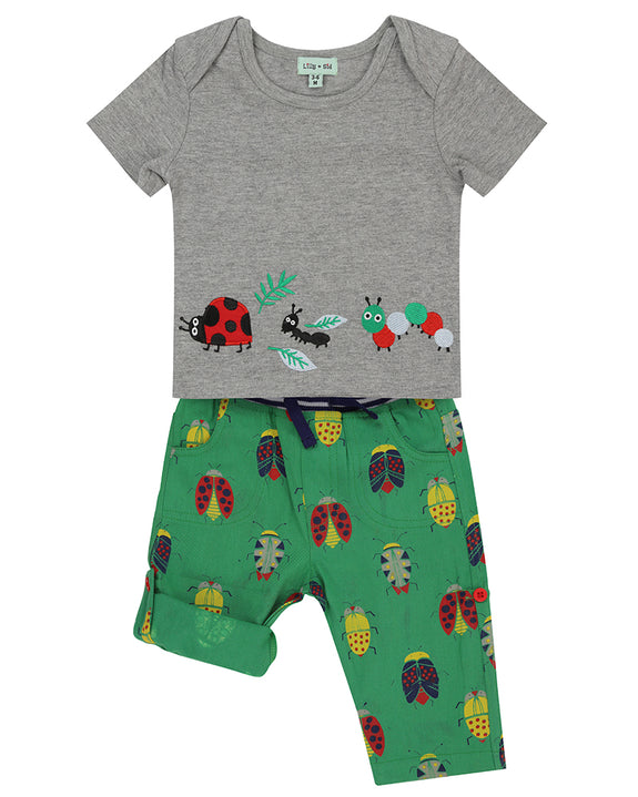 Roll Hem Applique Set- Bugs