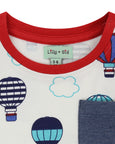 Short Sleeve Playset- Balloon Print
