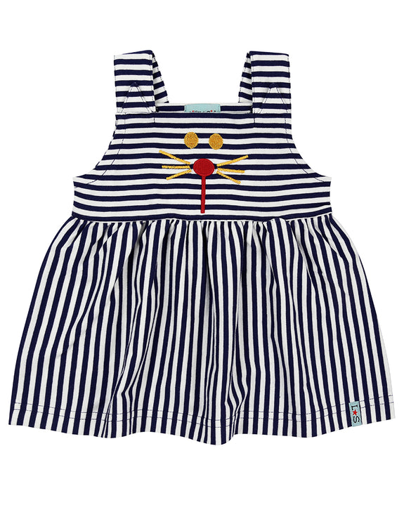 Character Stripe Pini Set- Navy/Red