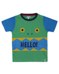 Cut And Sew T- Hello Monster