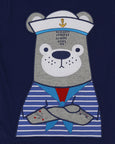 Applique T- Captain Bear
