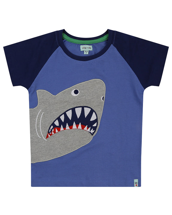 Shark Applique Top