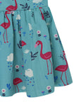Woven Betty Dress- Flamingo