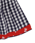 Reversible Skirt- Butterfly/Gingham