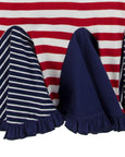 Dress Circle Insert Dress- Nautical