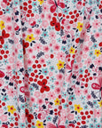 Fabric Mix Sundress-  Floral