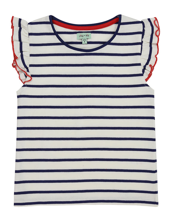 Pretty Vest Top - Stripe
