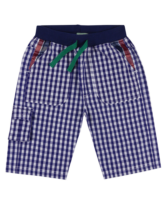 Woven Shorts- Gingham